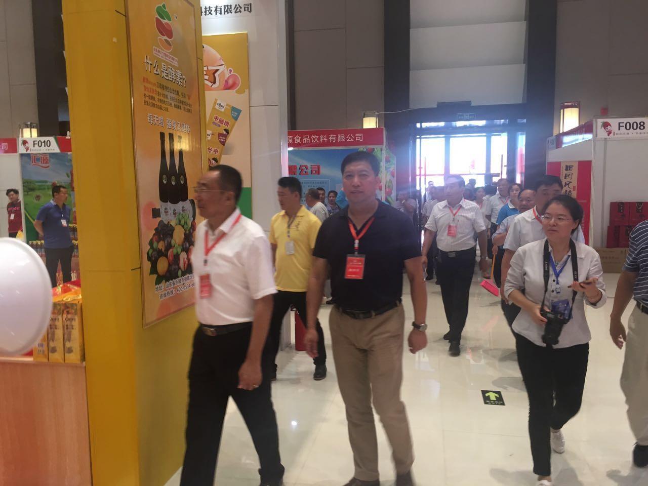 省饮料行业协会领导参加乐陵红枣节并走访会员企业